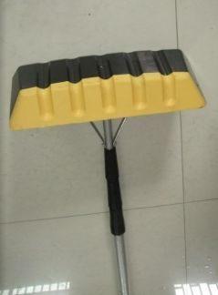 Dachräumer Soft mit Alu Teleskopstiel, Gummikante